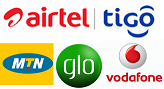 MOBILE TOP UP GHS5